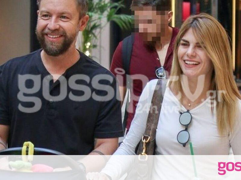 Γιάννης Βαρδής – Νατάσα Σκαφίδα: Βόλτα με το νεογέννητο παιδί τους – Μια ευτυχισμένη οικογένεια!